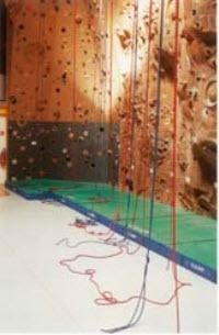 landing mat for indoor climbing wall GYMNOVA
