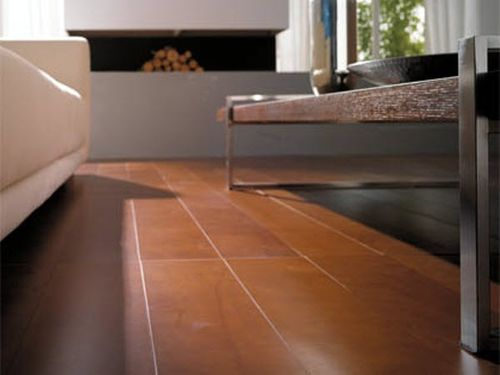leather floor tile ARIA LIVING ROOM LINEACUOIO