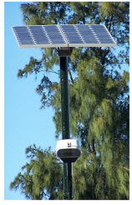 LED solar lamp post NTH LED-LIGHT Thermo Solar