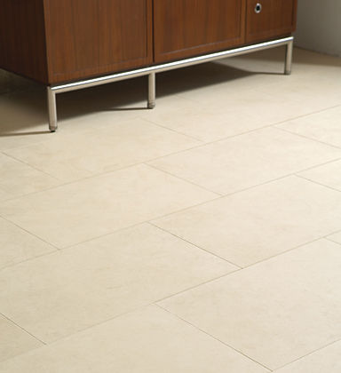 limestone floor tile PEARL ANN SACKS
