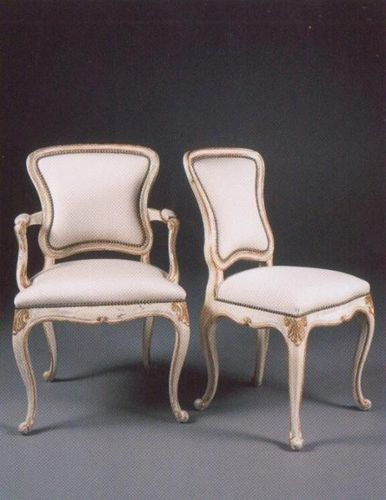 Louis XV classic style armchair 825-A & 825-S William Switzer