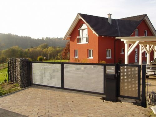 metal swing gate Kollegger Metallbau GmbH