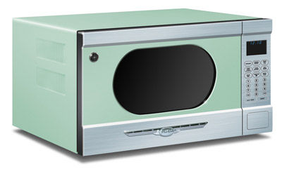 microwave oven MINT GREEN Elmira Stove Works