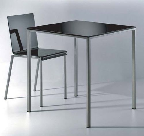 minimalist design table MINI TAVOLO INOX by Maurizio Peregal ZEUS