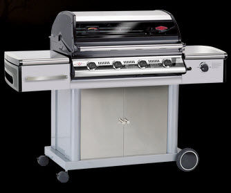 mobile gas barbecue DISCOVERY 500I : 48240 BEEF EATER BBQ