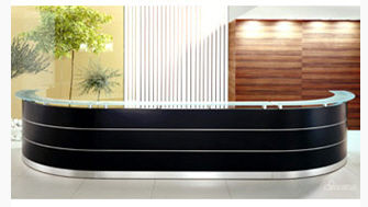 modular reception desk EMEL 03  MSL Interiors Ltd