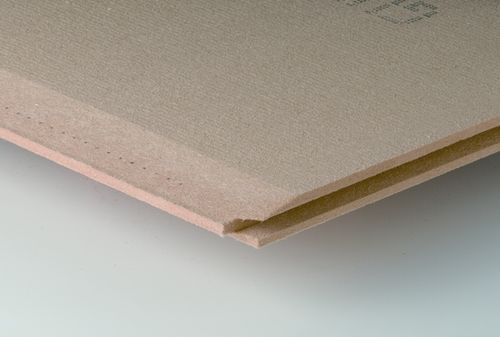 natural acoustic insulation panel in wood fiberboard MULTIPLEX TOP Ecological Building Systems 