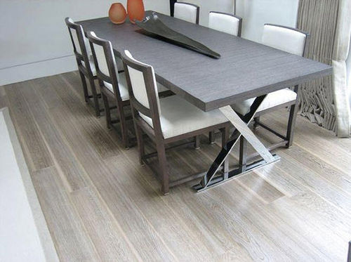 oak solid wood flooring (PEFC-certified) SKYLINE, 'DRIFTWOOD' de christo Vertriebs GmbH