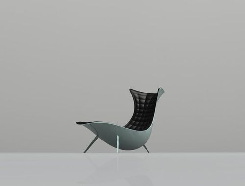 organic design lounge chair LC-018 The chair