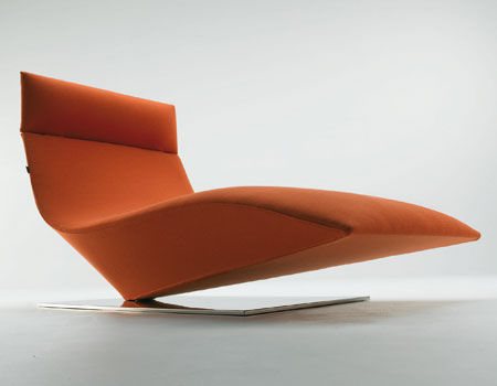 original design lounge chair LOFTY by P.Cazzaniga MDF Italia