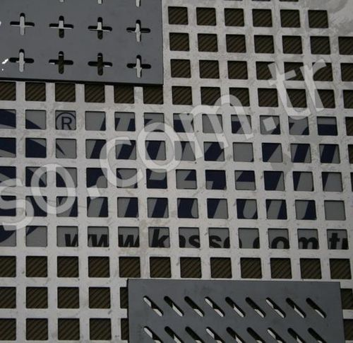 perforated sheet metal panel (square holes) K - 11  Kasso Engineering Limited Co.