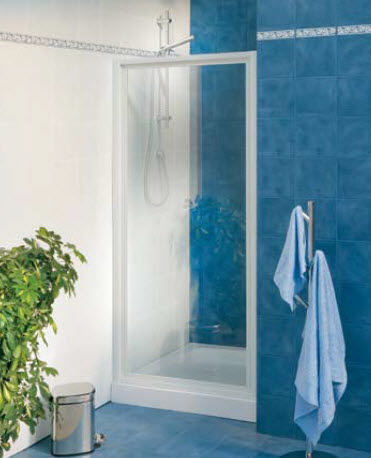 pivot shower screen for niche shower MG_4P  Friges