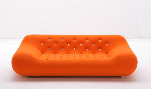 pop art design sofa STAR by Space Time Giovannetti Collezioni