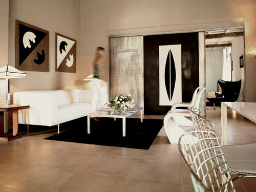 porcelain stoneware tile STUDIOS NAT : JUTA CASTELVETRO