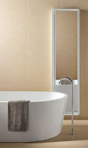 porcelain stoneware wall tile: plain color PERIGORD : CLAIR DE LUNE COTTO D'ESTE