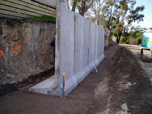 precast reinforced concrete slurry wall Groundtechgeo