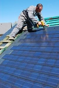 PV solar kit (for slate roofing) SOLESIA ARDOISE Eternit