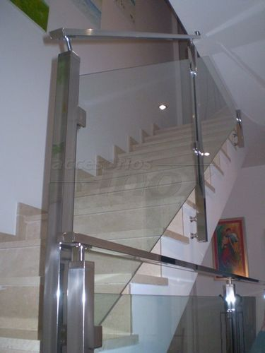 railing with glass panels COLPAR Accesorios Inox