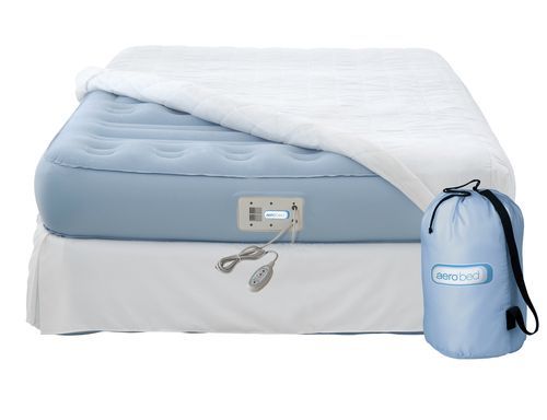 raised inflatable double mattress PLATINUM AEROBED
