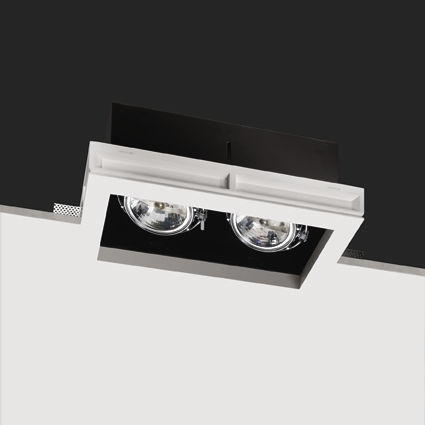 recessed ceiling halogen spotlight (cardan, low voltage) BLACK BOX 2 BUZZI & BUZZI
