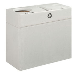 recycling dust-bin with integreted ashtray 1037 Peter Pepper Products
