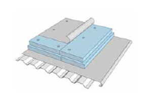 rigid expanded polystyrene insulated roof panel SR.P � STYRO RAIL