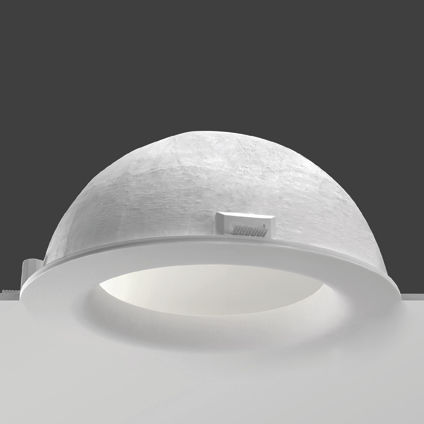 round fluorescent downlight (recessed, compact) POLARIS  BUZZI & BUZZI