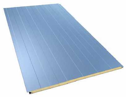 sandwich panel: metal and polyurethane core (PUR) OLIMPIA PIR Europerfil