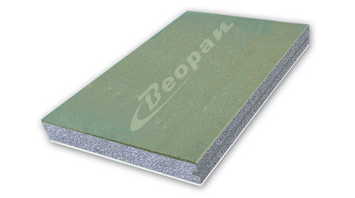 sandwich panel: plywood with expanded polystyrene core BEOSAND BEOPAN