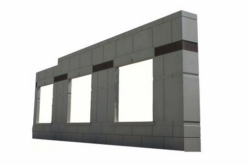 sandwich panel: precast concrete High Concrete