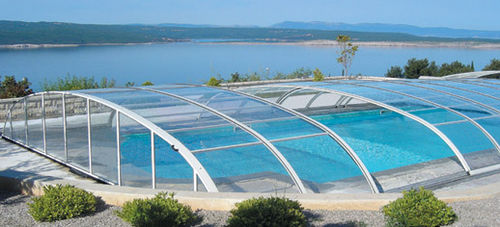 semi-sliding low pool enclosure LA TETTOIA EUROPRODOTTI MARINO BERNASCONI