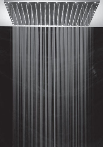 shower head with built-in lights REVIVRE OTTONE MELODA