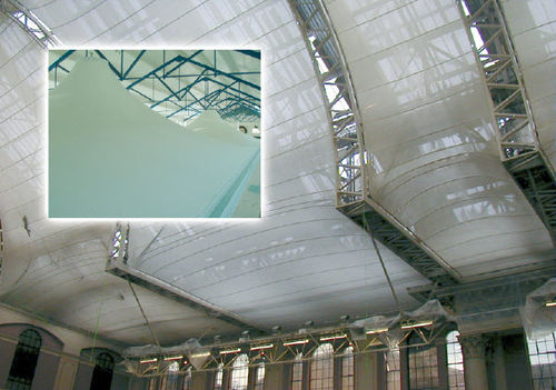silicon coated fiberglass fabric (for tensile structures) 2000 TRL Interglas Technologies