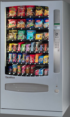 snack vending machine with dual temperature zones 1000 WURLITZER