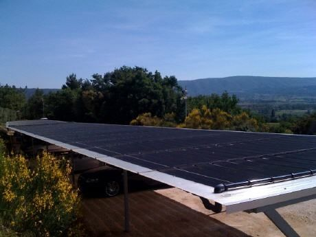 solar heating for swimming pools ELIOS T&A