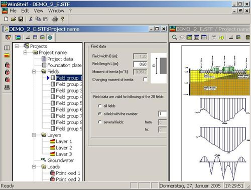 special foundations calculation software WINSTEIF IDAT
