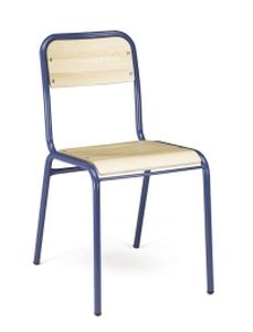 stacking chair for school 918 CROM 2