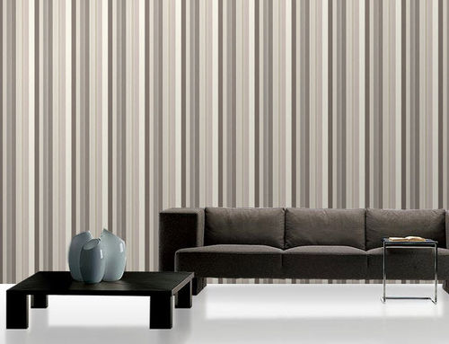 striped non-woven wallpaper WALLKOTYR: 111013 Decor Maison