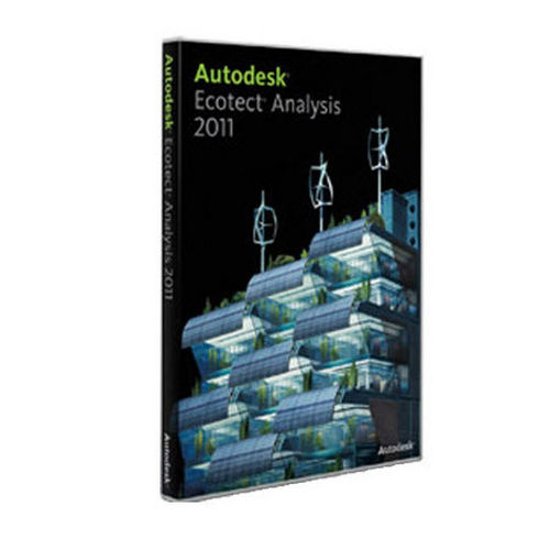 sustainable design software AUTODESK® ECOTECT® ANALYSIS 2011 Autodesk