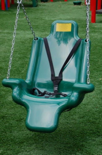 swing seat for the disabled BYO Playground, Inc.