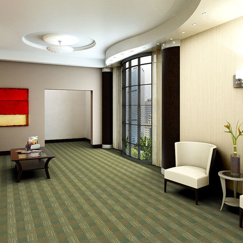 synthetic loop pile carpet tile AWARENESS Milliken Contract