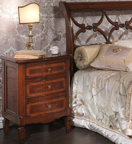 traditional bed-side table 2028 VIMERCATI MEDA CLASSIC FURNITURE