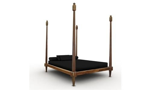 traditional canopy double bed FIORENZA Costantini Design