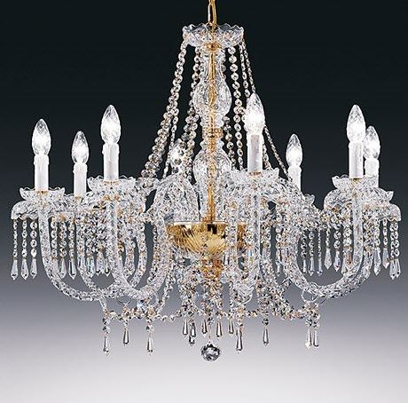 traditional chandelier (crystal) ALICANTE Classic Light