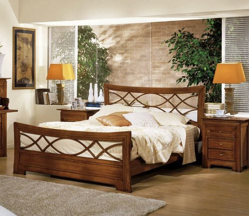 traditional double bed PR-1060 Signature Home Collection