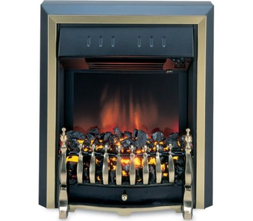 traditional fireplace (electric open hearth) ROTHERBY 531BR-R Burley