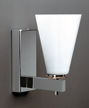 traditional glass wall light STRUT MEDI by Torbjörn Eliasson BLOND