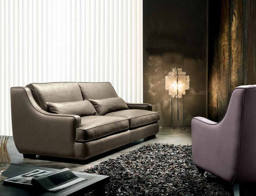 traditional leather sofa LEONARDO Cava
