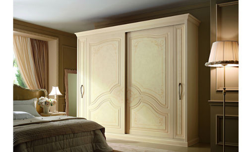 traditional sliding door wardrobe DIAMANTE Sanmichele