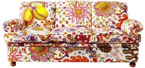 traditional sofa 703 by Josef Frank Svenskt Tenn